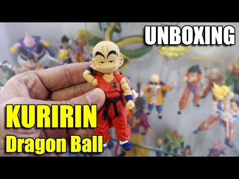 KURIRIN KID Dragon Ball Bandai S.H. Figuarts - UNBOXING REVIEW
