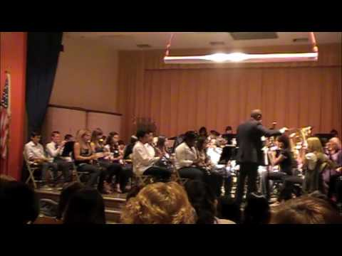 Monroe Middle School Advanced Band - The Great Locomotive Chase