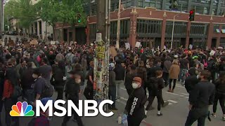 Peaceful Protests In Seattle As Gov. Jay Inslee Blasts Trump | The 11th Hour | MSNBC