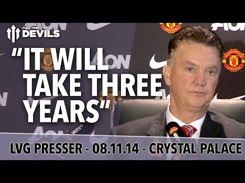 """""""It Will Take Three Years"""" 