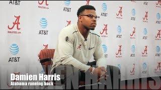 Alabama RB Damien Harris on LSU game