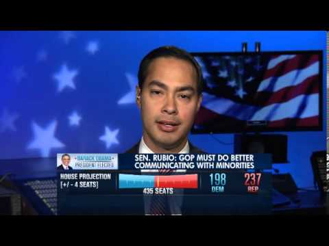 Julián Castro on changing demographics of the electorate post-election (November 7, 2012 - MSNBC)