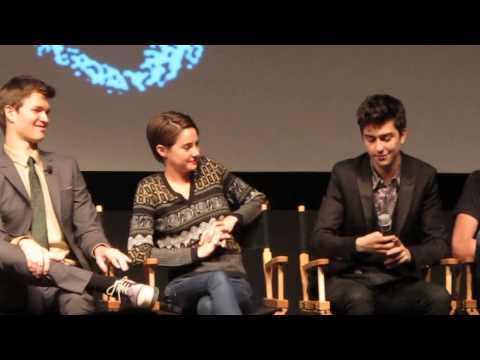The Fault In Our Stars Cast Q & A After Fan Screening