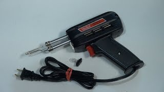 The Best Soldering Gun DIY. LED light. WELLER GUN. Импульсный паяльник