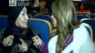 أحلى النجوم |لقاء بوسى شلبى مع سهير البابلي في مهرجان الاتحاد العام للمنتجين للعرب