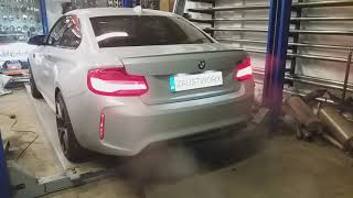 BMW M2 Competition rear silencer delete