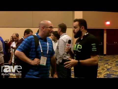 InfoComm 2016: Nik Nepomuceno Interviews William Ormond From Lung Biotechnology at Opening Reception