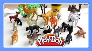 Animals For Kids With Play Doh Fun / Animals Song For Children #1 By Jeannetchannel