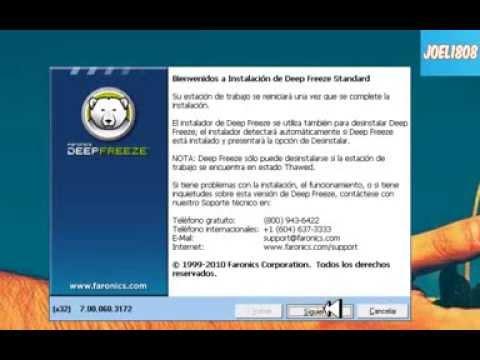 Descargar e Instalar DEEP FREEZE 7 ESPA OL PARA WIN XP/7/8 2014 ASK  TUTOSPC