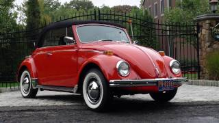 Classic VW BuGs Saying Goodbye to the 1970 Clementine Orange Beetle Convertible
