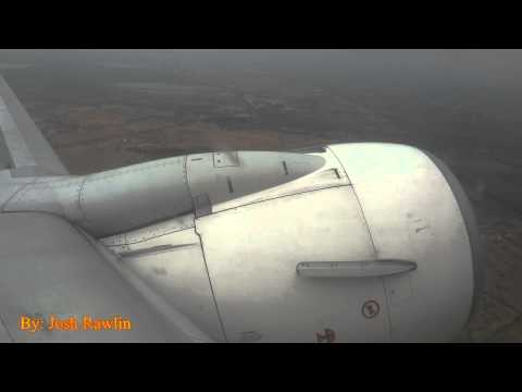 SpiceJet 737-800 - Departing views of the Madurai airport area (IXM) from onboard at takeoff.