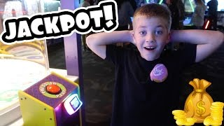 WINNING THE JACKPOT AT THE ARCADE!