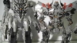 Transformers ROTF Revenge of The Fallen Leader Class Megatron Review
