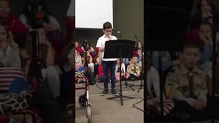 Kaleb Veterans Day celebration essay