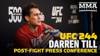 UFC 244: Darren Till Post-Fight Press Conference - MMA Fighting