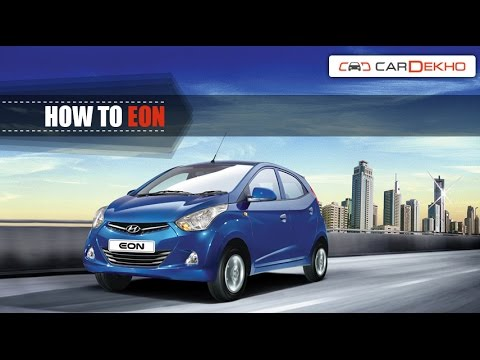 How to Operate Headlamps & Foglamps in Hyundai Eon | CarDekho.com