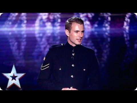 Military magic man Richard Jones we salute you! | Grand Final | Britain's Got Talent 2016
