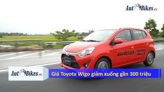 Giá Toyota Wigo đột ngột giảm xuống gần 300 triệu, quyết đấu Hyundai Grand i10, Kia Morning