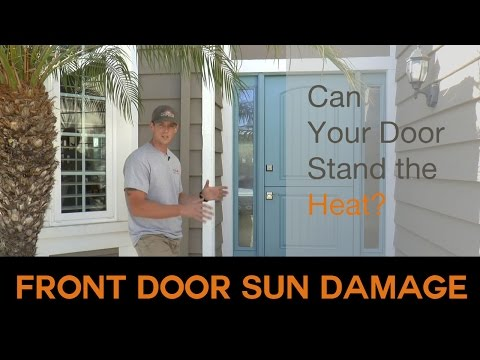 Guide To Fiberglass Entry Doors Todays Entry Doors - Creative door chain that is really safe