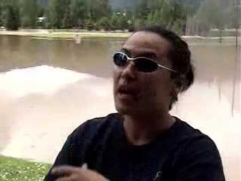 Flood in Smithers, BC June 5, 2007