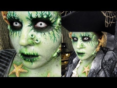 Pirate Makeup: Davy Jones