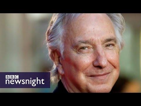 'We've lost a king': Juliet Stevenson on Alan Rickman - BBC Newsnight