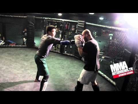 Glover Teixeira trains with Lyoto Machida & Chuck Liddell for UFC on FOX fight with Rampage Jackson Image 1