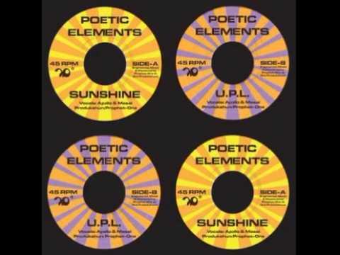 Poetic Elements - U.p.l. video