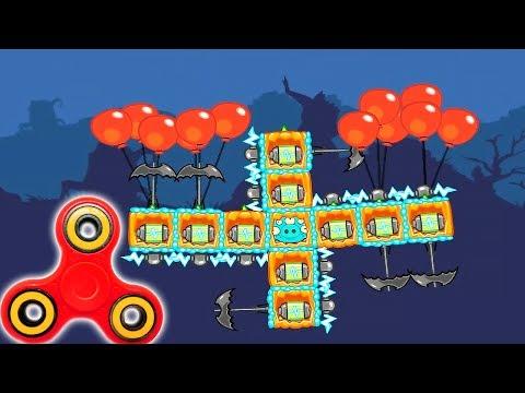 BadPiggies HD 2017 НОВЫЕ СПИННЕРЫ!!! BadPiggies 2017 NEW SPINNERS. Игровое видео для детей. wiki mod
