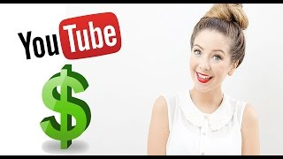 How much does Zoella make on youtube