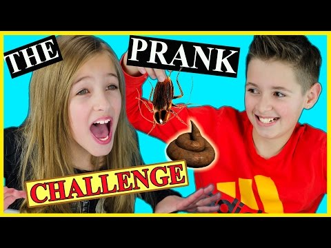 THE PRANK CHALLENGE with LIVE ANIMALS! GROSS INSECTS POOP SLIME OOZE ORBEEZ IDEA by PLP TV
