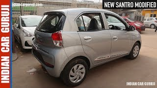 New Santro 2018 Full Modified Best Accessories Interior,Exterior with Price