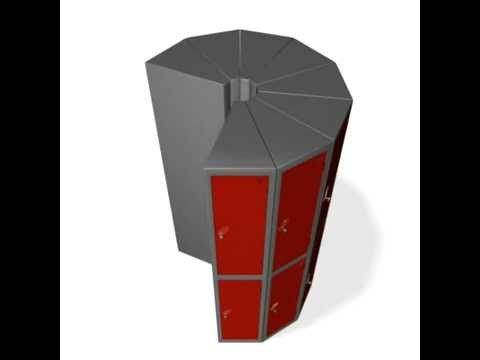 Probe Pod lockers from Storage Design Limited