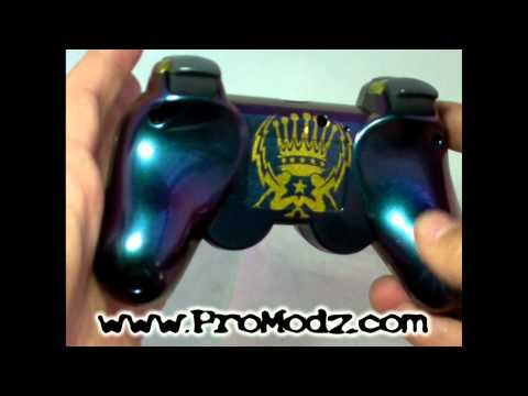 Pro Modz KingMaker Custom PS3 Controller Preview