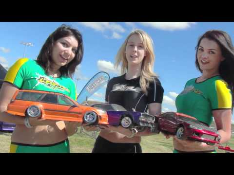 melbRC drifters and HOT PROMO GIRLS at the Australian Drifting GP 2011