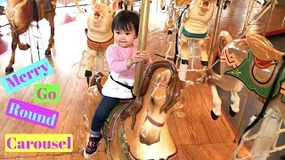 Fun Indoor Playground for Kids at Please Touch Museum - PART 1 - Merry-Go-Round Carousel