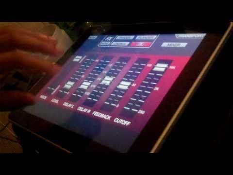 LIVE BEAT MAKING USING AKAI SYNTHSTATION FOR IPAD