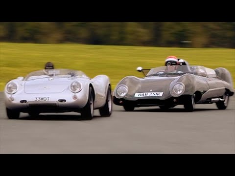 Technic 550 Spyder vs Westfield 11#TBT - Fifth Gear
