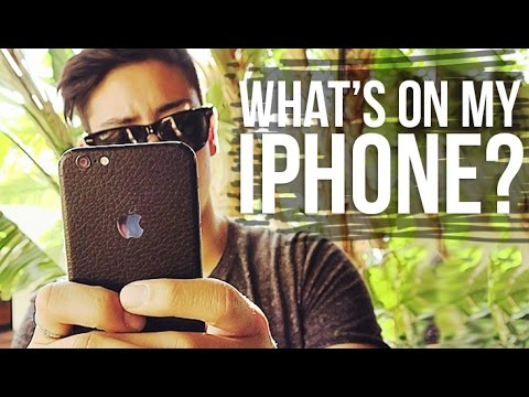 WHAT'S ON MY IPHONE 6? + HOW I EDIT MY INSTAGRAM PHOTOS | JAIRWOO