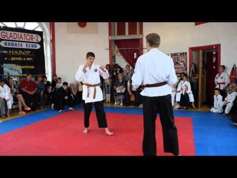 кихон кумитэ видео на белый пояс