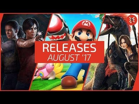 Neue SPIELE im AUGUST 2017 - RELEASES für PC, PS4, Xbox One, Nintendo Switch │Frisch aufgetischt