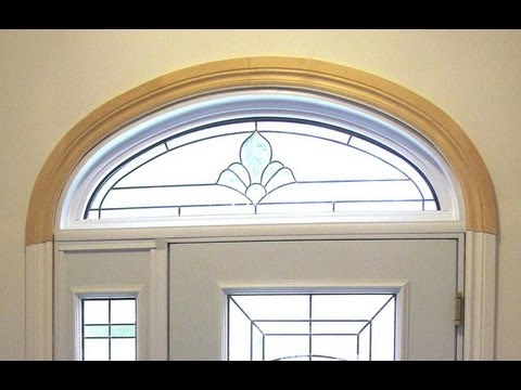 Curved trim layout youtube for Window design 4 by 4