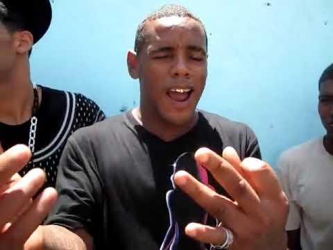 Omar Chilena En El Patio De La Victoria Con Julio Restituyo, Tembleke, Mister Geto y foso wit