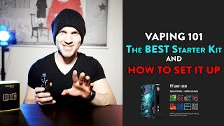Beginner's Guide to Vaping: The BEST Starter Kit & HOW TO Set It Up!