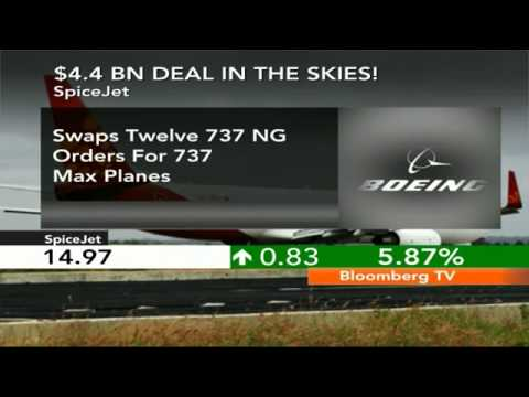 Market Pulse- SpiceJet Signs $4.4 Bn Deal With Boeing