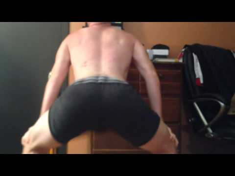 White boy booty clap