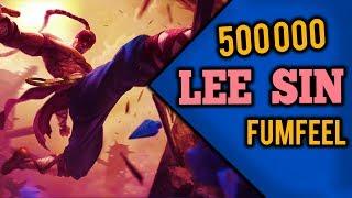 500 000 MASTERY POINTS | Lee Sin | Fumfeel #001