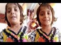 Asifa's last poem in her beautiful voice | Asifa Last Video | #JusticeForAsifa | T-Point