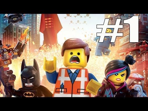 The Lego Movie Videogame Walkthrough Part 1 No Commentary Gameplay Lets Play Playthrough