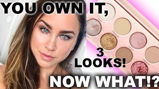 3 EASY EYESHADOW LOOKS! Laura Lee Nudie Patootie Palette- HOW TO USE IT!? | Beauty Banter